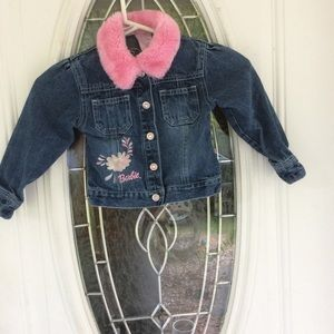Barbie Denim Jacket Sz 5